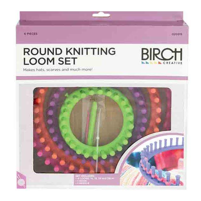 Birch Round Knitting Loom Set By Birch
