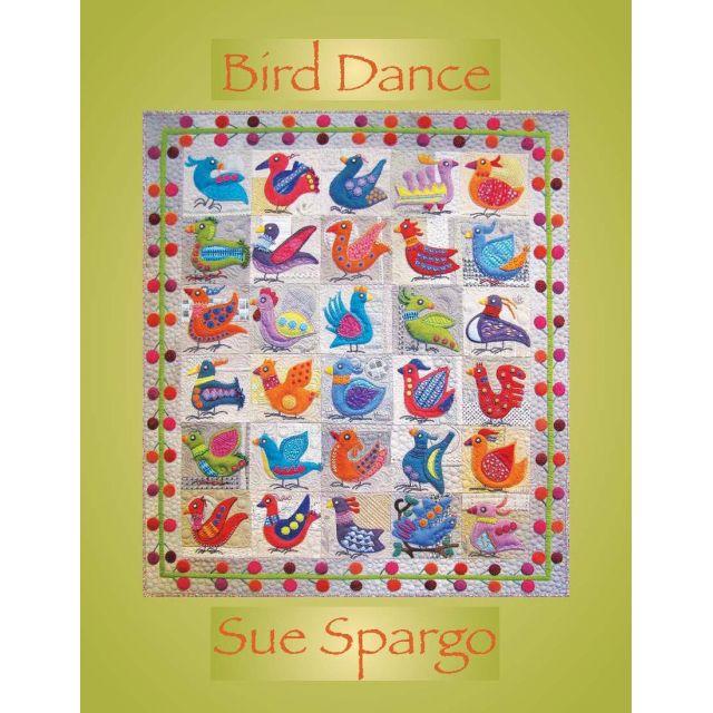 Bird Dance by Sue Spargo by Sue Spargo - Sue Spargo