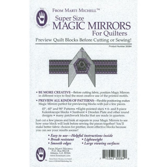 Marti Michell Supersize Magic Mirrors by Marti Michell Other Notions - OzQuilts