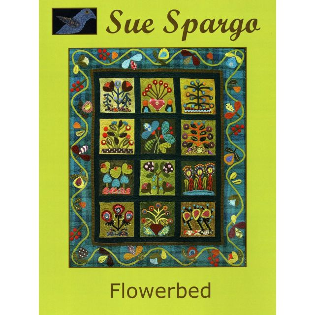 Flowerbed  by Sue Spargo by Sue Spargo Sue Spargo - OzQuilts