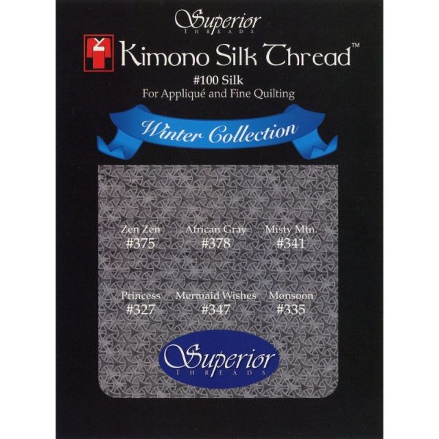 Kimono Silk Thread Winter Collection by Superior Kimono Silk Thread Thread Sets - OzQuilts