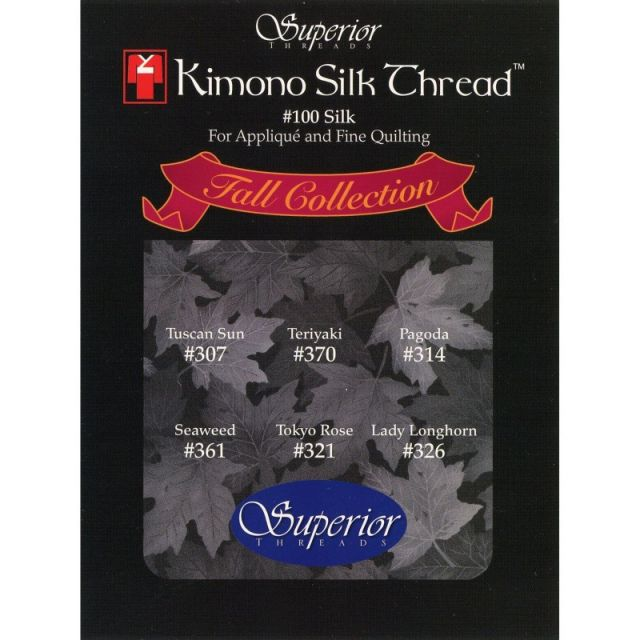 Kimono Silk Thread Fall Collection by Superior Kimono Silk Thread Thread Sets - OzQuilts