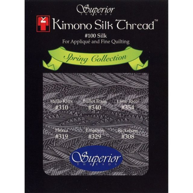 Kimono Silk Thread Spring Collection by Superior Kimono Silk Thread Thread Sets - OzQuilts