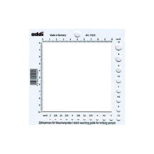 ADDI 2-in-1 Tension and Needle Gauge by Addi Accessories - OzQuilts