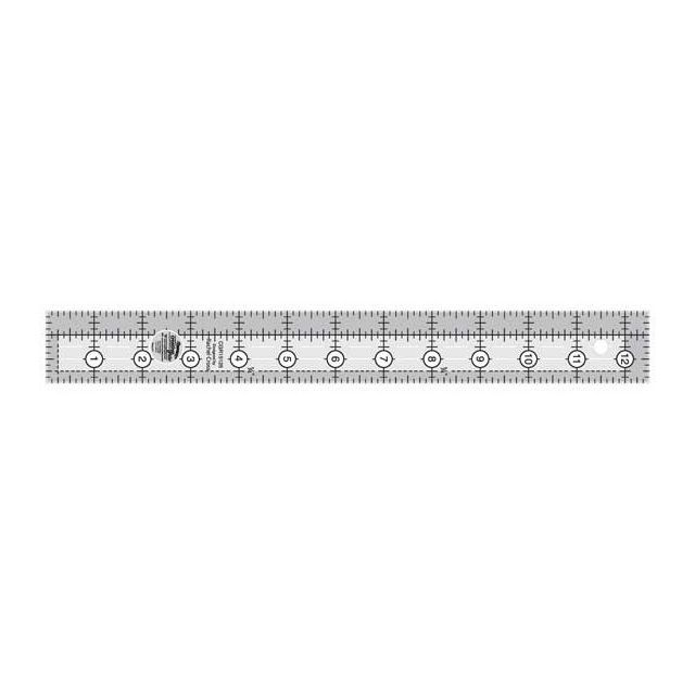 """Creative Grids Ruler 1.5"""" x 12.5"""" Rectangle by Creative Grids Rectangle Rulers - OzQuilts"""