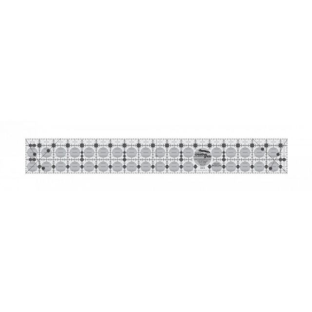 "Creative Grids Ruler 2.5"" X 18.5"" by Creative Grids Rectangle Rulers - OzQuilts"