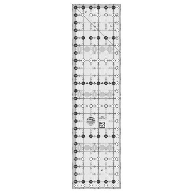 "Creative Grids Ruler 6.5"" x 24.5"" by Creative Grids Rectangle Rulers - OzQuilts"