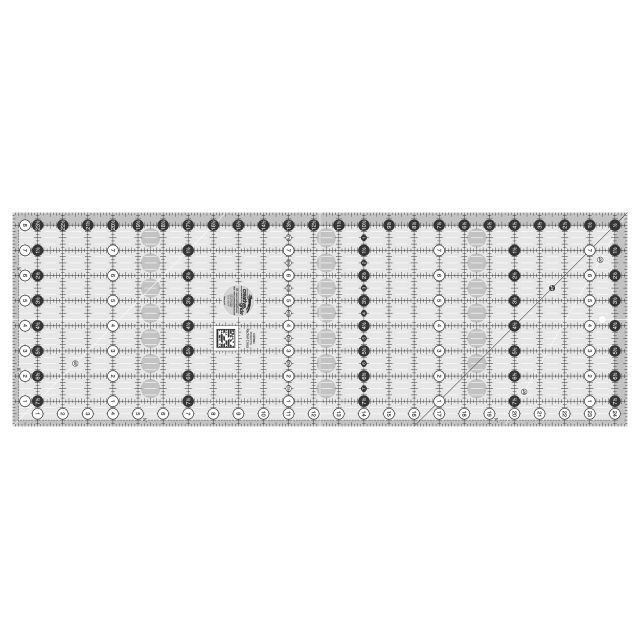 "Creative Grids Ruler 8.5"" x 24.5"" by Creative Grids Rectangle Rulers - OzQuilts"