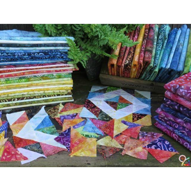 Better Together Quilt Pattern by Jacqueline de Jongue by BeColourful Quilts by Jacqueline de Jongue Quilt Patterns - OzQuilts