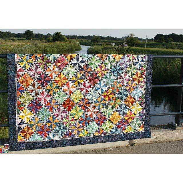 Carousel Quilt Pattern by Jacqueline de Jongue by BeColourful Quilts by Jacqueline de Jongue Quilt Patterns - OzQuilts