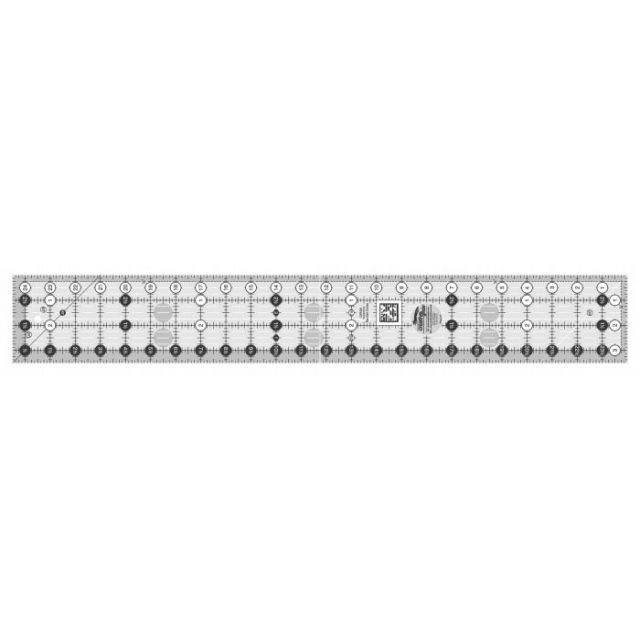 "Creative Grids Ruler 3.5"" x 24.5"" by Creative Grids Rectangle Rulers - OzQuilts"