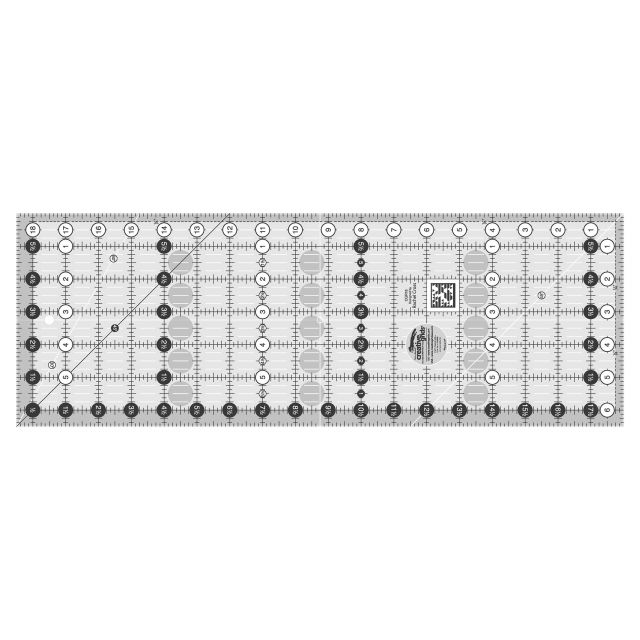 "Creative Grids Ruler 6.5"" x 18.5"" by Creative Grids Rectangle Rulers - OzQuilts"
