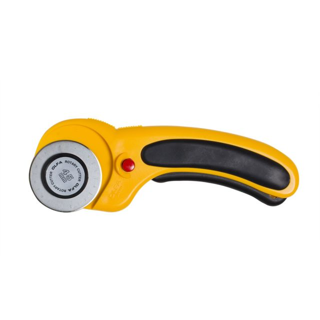 Olfa Ergonomic 45mm Rotary Cutter by Olfa Rotary Cutters - OzQuilts