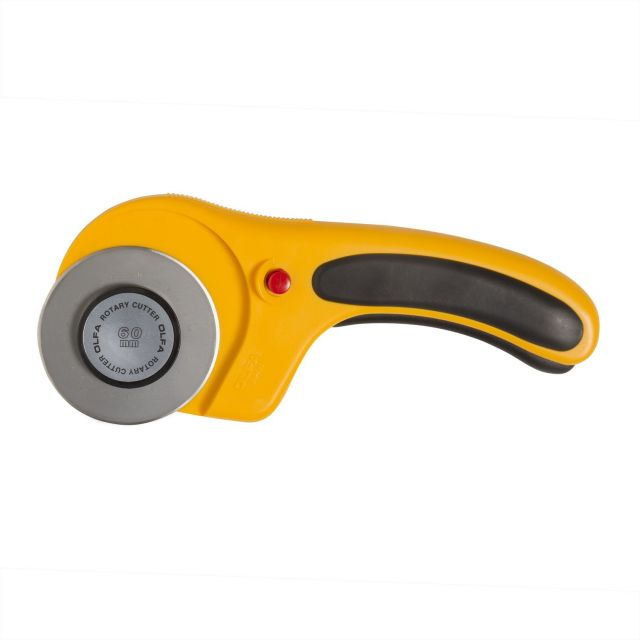 Olfa 60mm Ergonomic Rotary Cutter by Olfa Rotary Cutters - OzQuilts