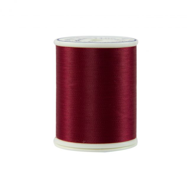 Bottom Line Thread, 60wt 1420yds, 603 Red by Superior Bottom Line Thread Bottom Line Thread 1420 Yards - OzQuilts