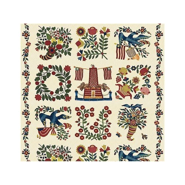 Baltimore Album Panel by Mary Koval by Windham Fabrics Panels - OzQuilts