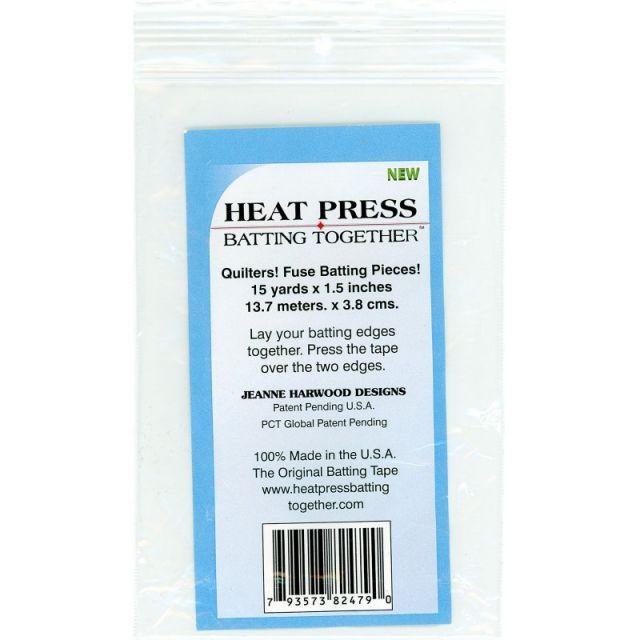 """Heat Press Batting Together 1½"""" Tape by Heat Press Batting Together - Batting Spray, Tape & Accessories"""
