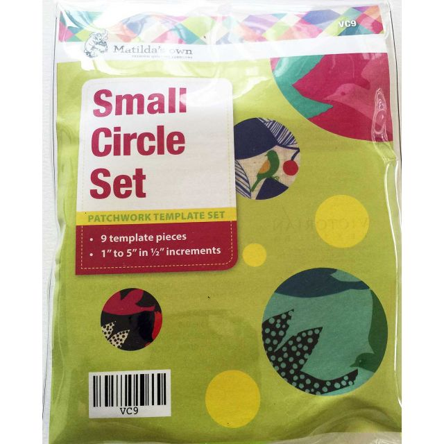 Matilda's Own Small Circles Patchwork Template Set by Matilda's Own Geometric Shapes - OzQuilts