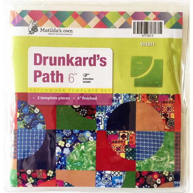 """Drunkards Path 6"""" Template Set by Matilda's Own - Quilt Blocks"""