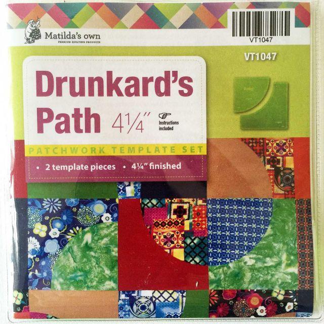 "Matilda's Own Drunkards Path 4.25"" Patchwork Template Set by Matilda's Own Quilt Blocks - OzQuilts"