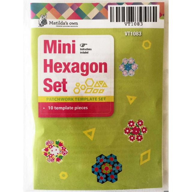 Matilda's Own Mini Hexagons, DIamonds & Triangles Patchwork Template Set by Matilda's Own Quilt Blocks - OzQuilts