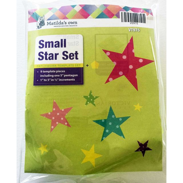 Matilda's Own Small Stars Patchwork Template Set