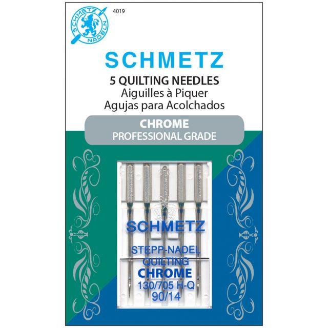 Schmetz Chrome Quilting Schmetz Needles Size 90/14 by Schmetz Sewing Machines Needles - OzQuilts