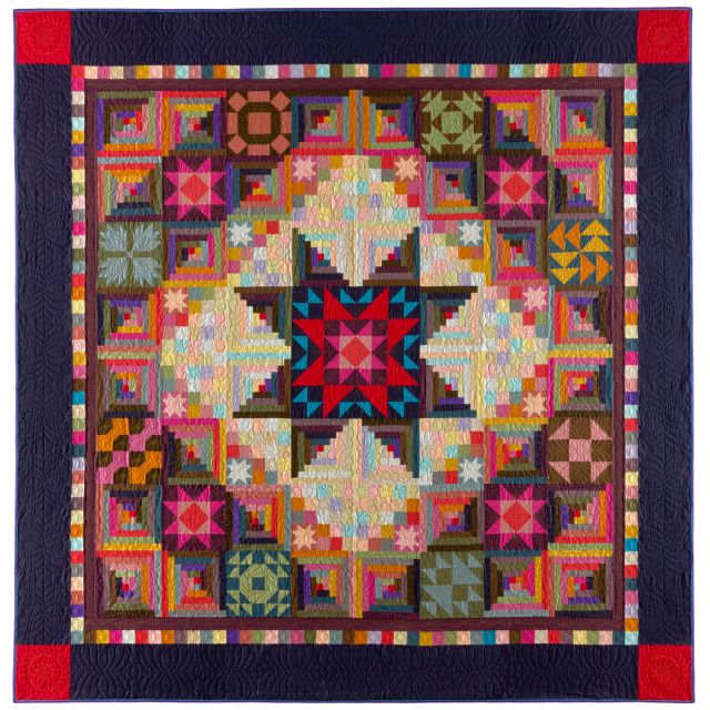 Amish With A Twist 2 Block Of The Month Quilt Pattern By