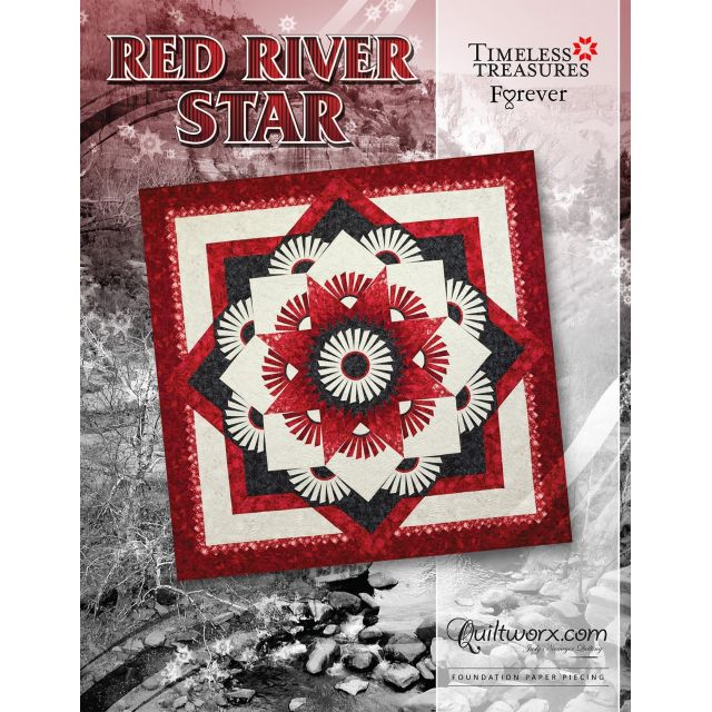Red River Star Pattern Amp Foundation Papers By Judy