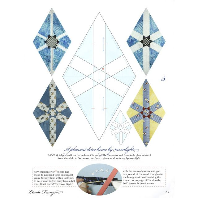 Quilted Diamonds 2 by  Reproduction & Traditional - OzQuilts