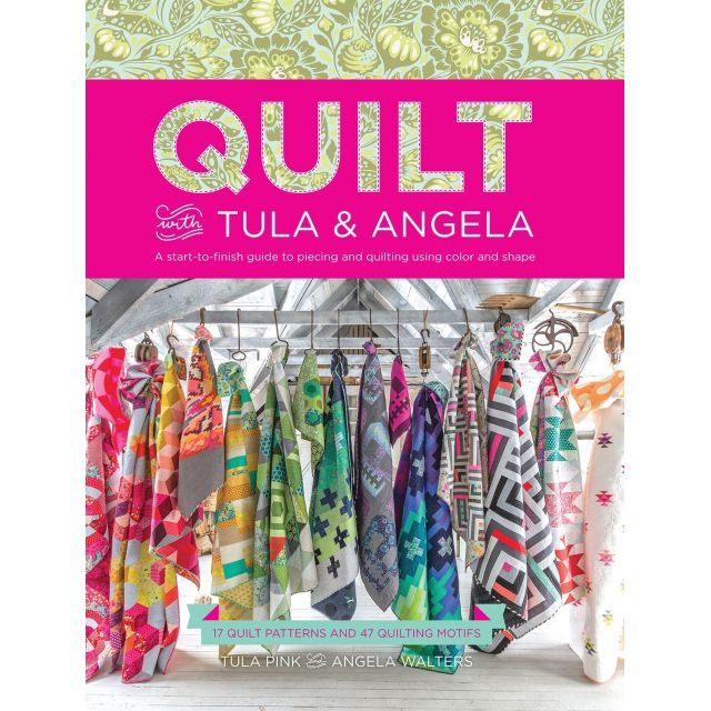 Quilt With Tula And Angela by Tula Pink Modern Quilts - OzQuilts