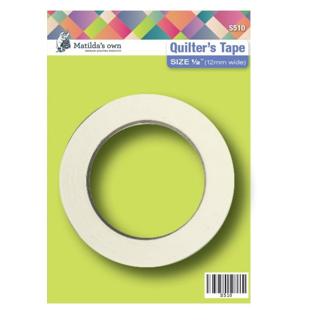 """Matilda's Own Quilters Tape 1/2"""" (12mm) by Matilda's Own Marking Tape - OzQuilts"""