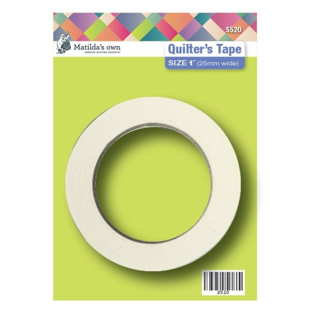 """Matilda's Own Quilters Tape 1"""" (25mm) by Matilda's Own Marking Tape - OzQuilts"""