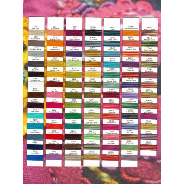 Sue Spargo Eleganza Perle 8, A Dozen Roses (EZ 24) by Sue Spargo Sue Spargo Eleganza Perle 8 - OzQuilts