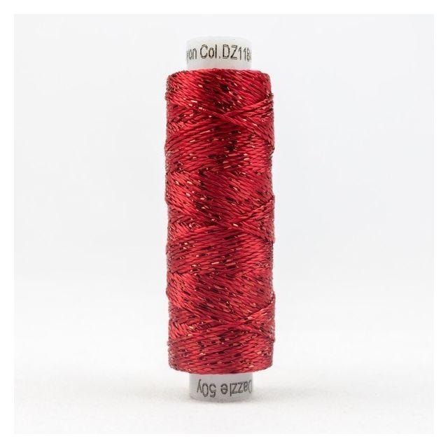 Sue Spargo Dazzle - Mars Red (1184) by Sue Spargo Dazzle - Sue Spargo Dazzle Rayon & Metallic