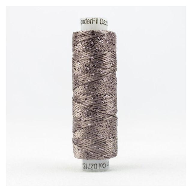 Wonderfil Dazzle, Sue Spargo Collection, Iron (7133) Thread by Sue Spargo Dazzle Sue Spargo Dazzle Rayon & Metallic - OzQuilts
