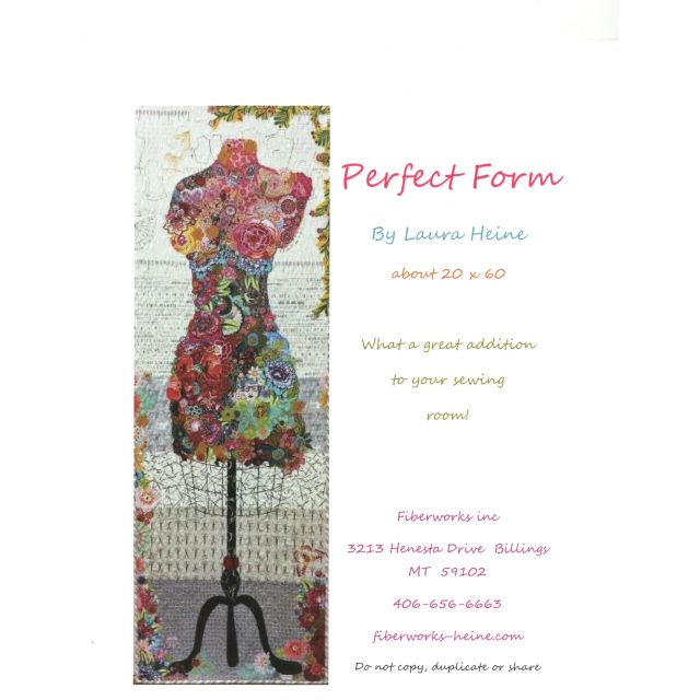 Perfect Form Collage Pattern by Fibreworks Inc Collage  - OzQuilts