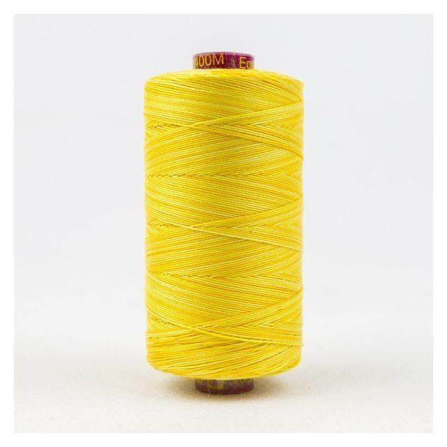 Wonderfil Fruitti, Sunny (FT01) Thread by Wonderfil Fruitti 12wt Cotton Fruitti 12wt Cotton Variegated  - OzQuilts