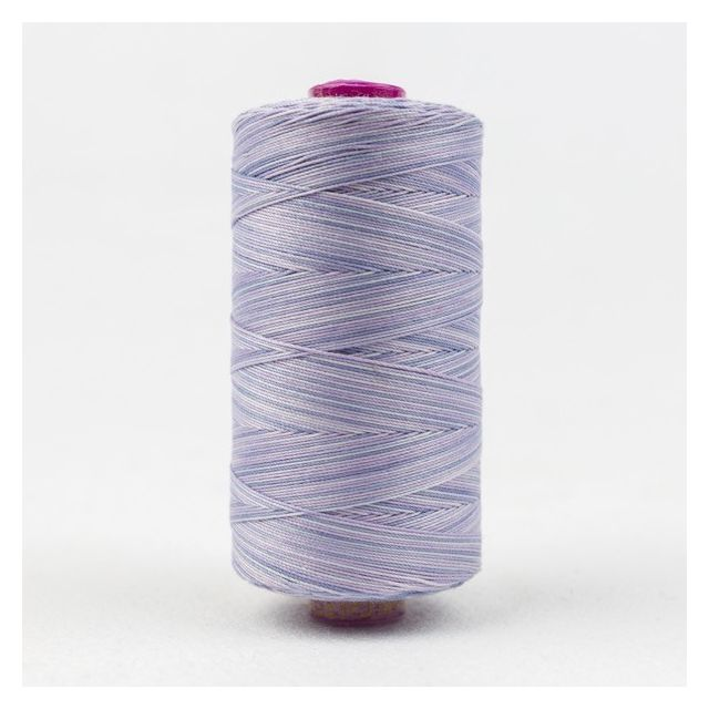 Wonderfil Fruitti, Lavender (FT19) Thread by Wonderfil  Fruitti 12wt Cotton Variegated  - OzQuilts
