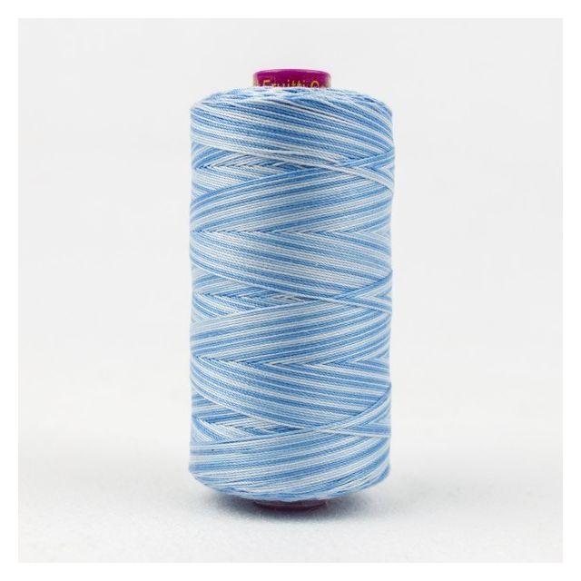 Wonderfil Fruitti, Sky Blue (FT21) Thread by Wonderfil Fruitti 12wt Cotton Fruitti 12wt Cotton Variegated  - OzQuilts