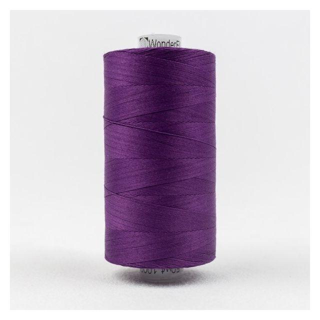 Wonderfil Konfetti 50wt cotton 1000 metres, Purple (KT605) Thread by Wonderfil  Konfetti 50wt Cotton Solids - OzQuilts