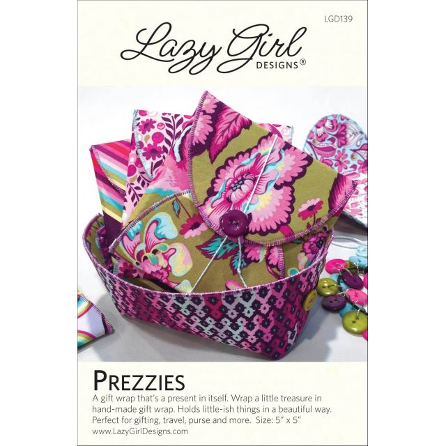 Prezzies Pattern by Lazy GIrl Designs by Lazy Girl Designs Bag Patterns - OzQuilts