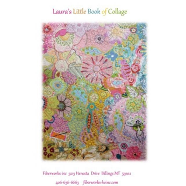 Laura's Little Book of Collage by Fibreworks Inc Collage  - OzQuilts