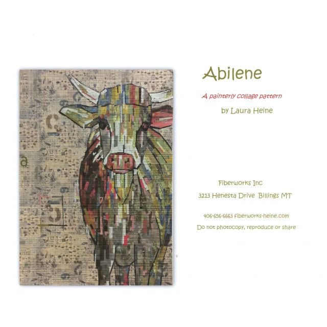 Abilene Collage Pattern by Fibreworks Inc Collage  - OzQuilts