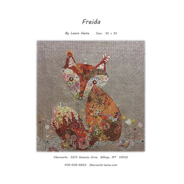 Frieda Fox Collage Pattern by Fibreworks Inc Collage  - OzQuilts