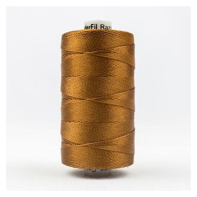 Wonderfil Razzle, Acorn Brown (RZ330) Thread by Wonderfil Razzle 8wt Rayon Razzle 8wt Rayon - OzQuilts