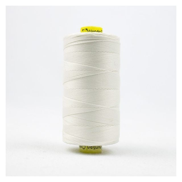 Wonderfil Spagetti 12wt cotton 400 metres, Ecru (SP101) Thread by Wonderfil  Spagetti 12wt Cotton Solids - OzQuilts