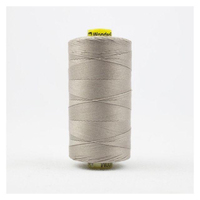 Wonderfil Spagetti 12wt cotton 400 metres, Light Grey Taupe (SP18) Thread by Wonderfil  Spagetti 12wt Cotton Solids - OzQuilts