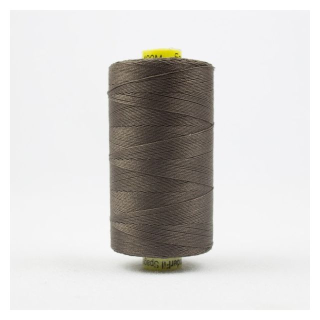 Wonderfil Spagetti 12wt cotton 400 metres, Dark Grey Taupe (SP20) Thread by Wonderfil  Spagetti 12wt Cotton Solids - OzQuilts