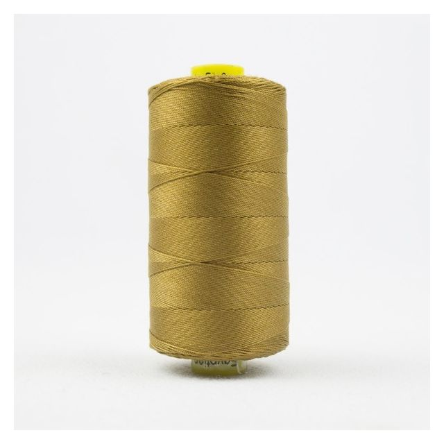 Wonderfil Spagetti 12wt cotton 400 metres, Caramel (SP21) Thread by Wonderfil  Spagetti 12wt Cotton Solids - OzQuilts